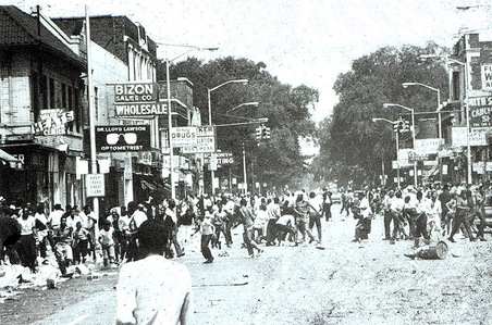 When did the 12th Street riot occur?