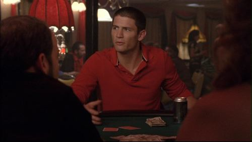 In the riverboat poker getaway scene(3x09), how many people did Nathan punch?