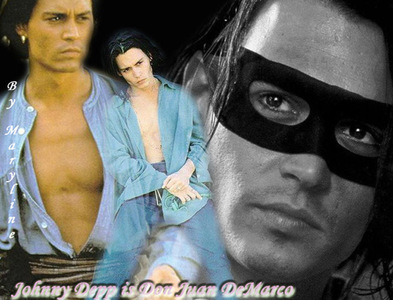 How many years off were Johnny's character in Don Juan DeMraco from his actually age?