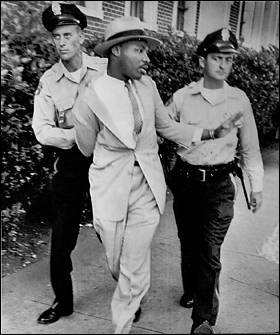 On April 12th 1963, Martin Luther King Jr. was arrested for...