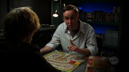Grave Danger Trivia: What game are Greg and Hodges playing in this scene?
