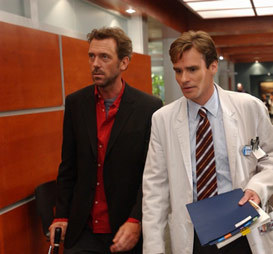"House says about two of them: """"I'm ________. Wilson's _________. We're different species."