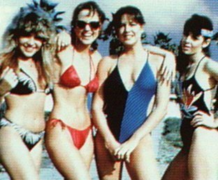 Besides Valley Girl, What other movie did Deborah Foreman (Julie) and Michelle Meyrink (Suzi) star in together?