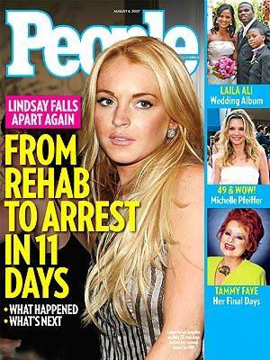 Lindsay Lohan's favorite room service meal?
