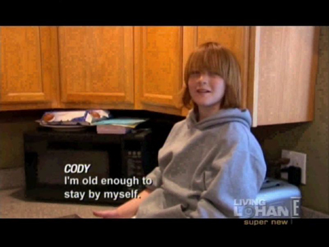 "Lindsay gives her youngest brother Dakota ""Cody"" a nickname .. what is it ??"