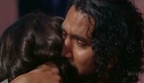 LOST: Who is Sayid hugging?