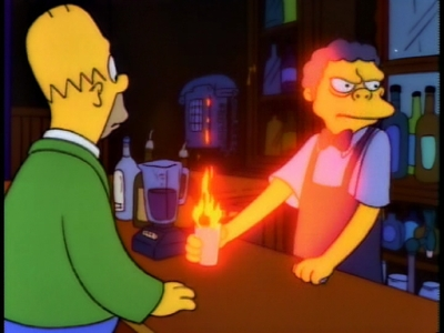 How much does a Flaming Moe cost?