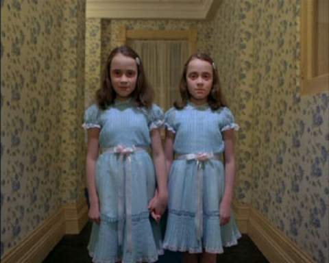 TRUE of FALSE: This scene was in THE BOOK for The Shinning?