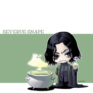 Snape have.....,.....hair?