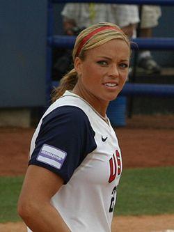Where did Jennie Finch play college softball?