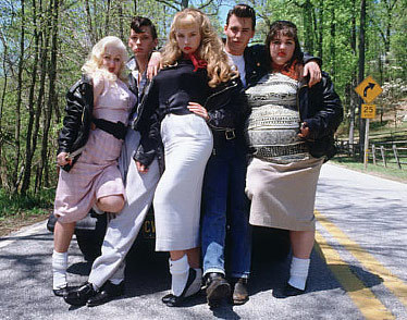 Which character is NOT part of Cry-Baby's gang?