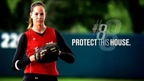 What company is Cat Osterman a spokesperson for?