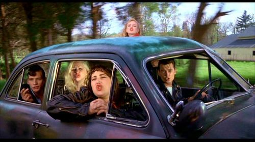 What song do Cry-Baby and his gang sing to Allison?