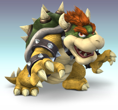 What was the first game Bowser appeared in?
