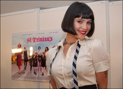 What is the name of the character Gemma played in St Trinians?