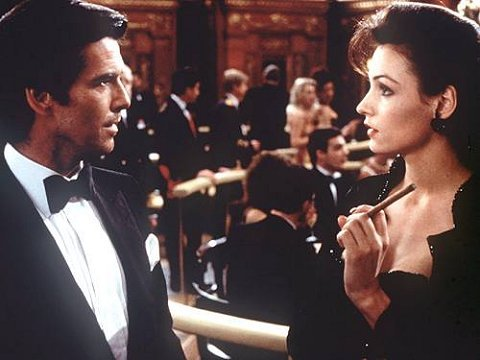 What's the name of the character she played in the James Bond film GoldenEye?