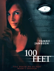 "What's the name of the character she played in the movie ""100 Feet""?"