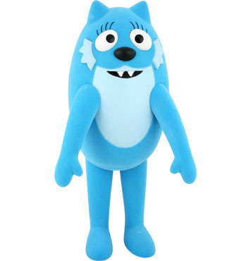 What is the name of the blue character on Yo Gabba Gabba?