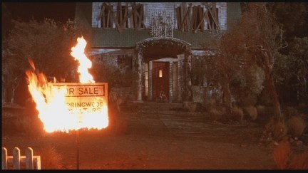 What was Freddy Krueger's family residental address in Nightmare On Elm Street?