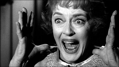 A scene with Bette Davis from which horror movie?