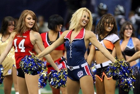 What league are these Cheerleaders from?