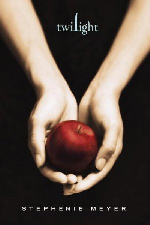 In Twilight, what does the apple on the cover represent?