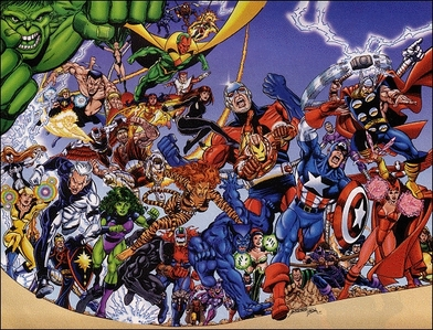 who was NOT an original member of 'The Avengers'?
