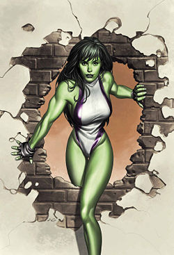 What is the She Hulk's real name?