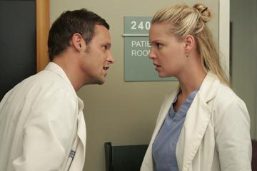 What's Alex nickname given by Izzie throughout Season 1 and 2?