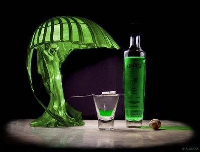 What is the absinthe called?