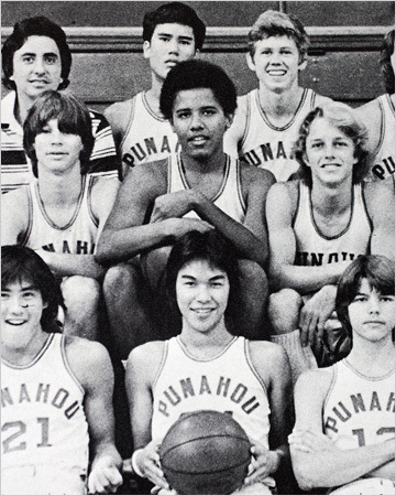 What was Barack Obama's nickname in high school?