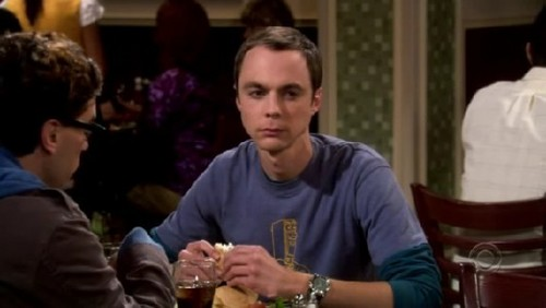 According to Sheldon, why can't he take the bus to work?