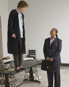 In what movie do we learn how to be instantly taller?