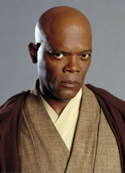 why is Mace Windu lightsaber blade purple?