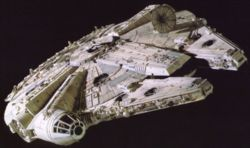 how did Han Solo get the Millennium Falcon?