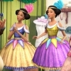 "What was the job of the twins from ""Barbie in a Christmas Carol""?"