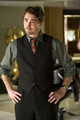 What&#39;s the name of his character in the film &#34;Miss Pettigrew Lives for a Day&#34;?