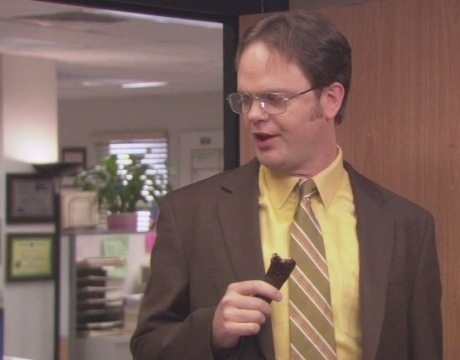 According to Dwight in \'Frame Toby,\' what did he once frame a ...