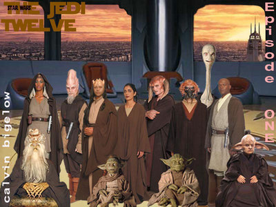 Which one of these Jedi was NOT on the Jedi Council in Episode 1?
