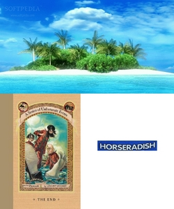 Where is the horseradish hidden in the last book 'The End'?