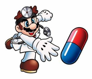 How many times was Dr. Mario in the Smash Bros. series?