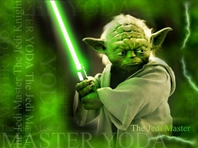How many planets has Yoda been shown on in the 6 live-action Star Wars films?