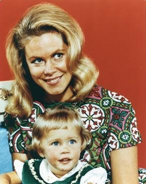 Erin Murphy who played Tabatha in Bewitched shares a birthday with one of Elizabeth's children.