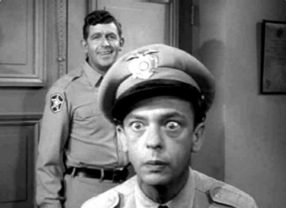 What was Don Knott's character name in The Andy Griffith Show?