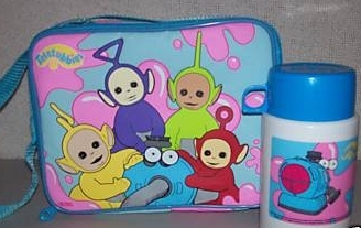 Who are on this lunch box?