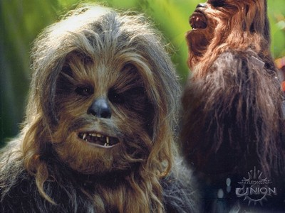 What was George Lucas' inspiration for Chewbacca?