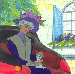 The cats live with Madame Adelaide Bonfamille, who is a retired  _________?