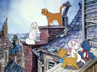 What year was the Aristocats released in the U.S.?