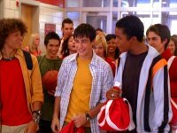 Out of Ryne and Chris, who spoke first in the first High School Musical??