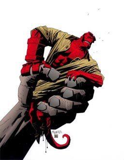 Who created Hellboy?